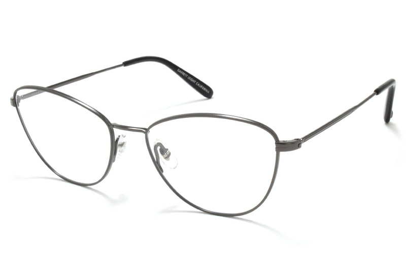 Garrett Leight - Olive Eyeglasses gunmetal-black