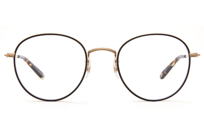 Garrett Leight - Paloma Eyeglasses Matte Black-Matte Gold-Oil