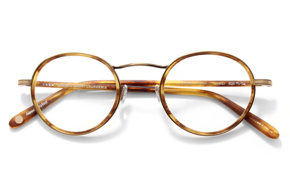 Garrett Leight® - Penmar Eyeglasses Antique Gold-Matte Pinewood