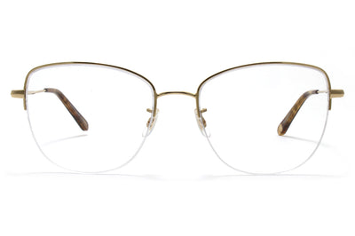 Garrett Leight - Pershing Gold-Feather Tortoise