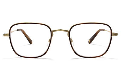 Garrett Leight® - Preston Eyeglasses Marigold Tortoise-Gold-True Demi