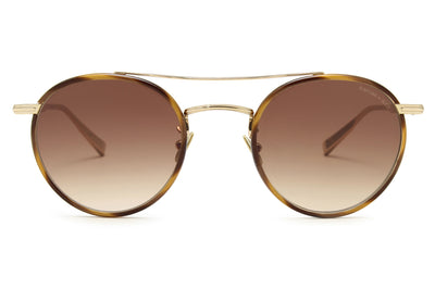 Rimowa x GLCO Sunglasses Demi Blonde-Gold with Semi-Flat Sepia Gradient Lenses