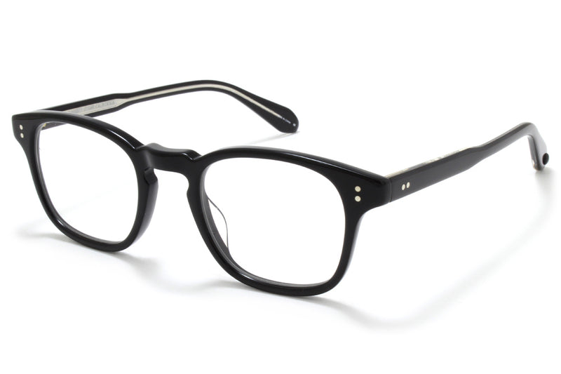 Garrett Leight - Thornton Eyeglasses Black