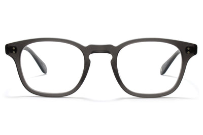 Garrett Leight - Thornton Eyeglasses Matte Grey Crystal
