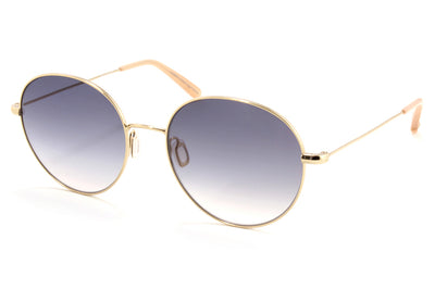Garrett Leight - Valencia Sunglasses Gold-Peach with Luna Gradient Lenses