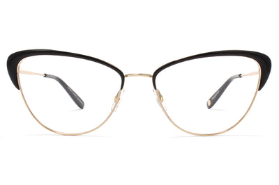 Garrett Leight® - Vista Eyeglasses Gold-Black