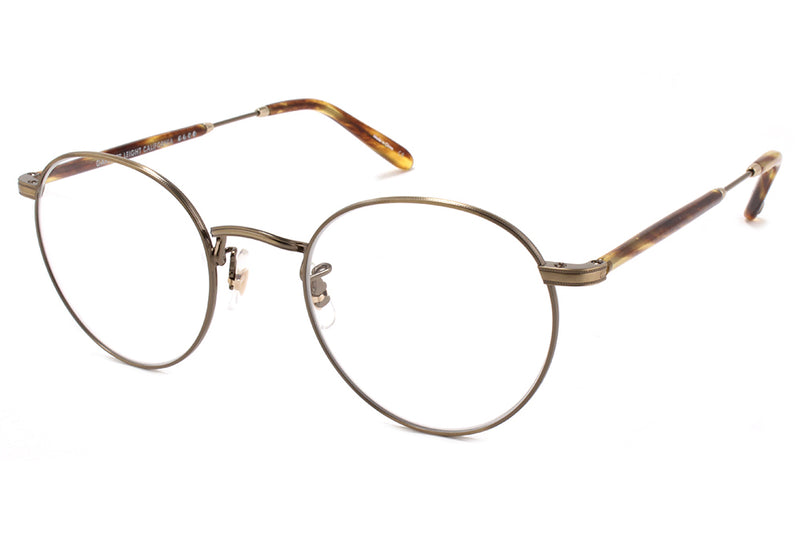 Garrett Leight® - Wilson M Eyeglasses Antique Gold-Pinewood
