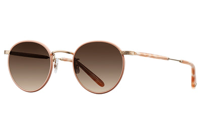 Garrett Leight - Wilson Sunglasses Ballet Pearl-Gold-Peach Tortoise with Desert Smoke Gradient Lenses