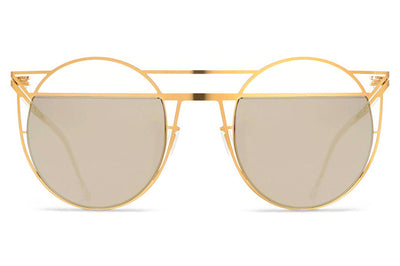 Lool Eyewear - Horizon Sunglasses Champagne Gold