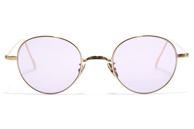 Bob Sdrunk - Jung Sunglasses Gold with Purple Lenses