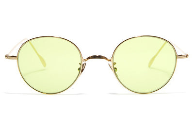 Bob Sdrunk - Jung Sunglasses Gold with Green Lenses