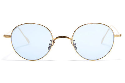Bob Sdrunk Sunglasses - Jung Gold with Blue Lenses
