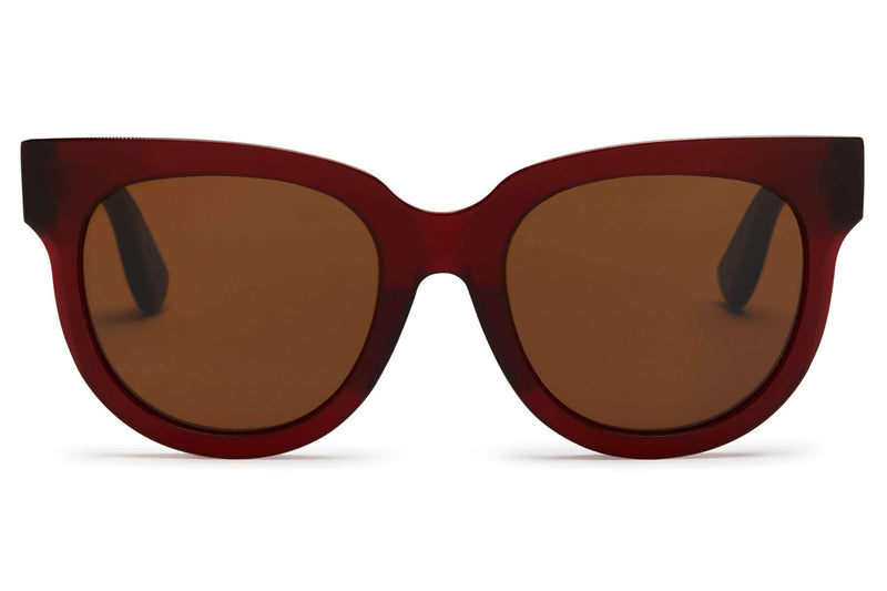 Just Human - Modern Aviator 01 Sunglasses Crimson Red