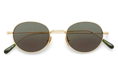 Kaleos Eyehunters - Baskin Sunglasses Gold with G-15 Lenses
