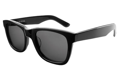 Kaleos Eyehunters - Belfort Sunglasses Black with Grey Lenses