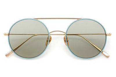 Kaleos Eyehunters - Borden Sunglasses Sky Blue/Gold