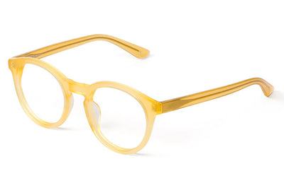 Kaleos Eyehunters - Corleone Eyeglasses Transparent Yellow