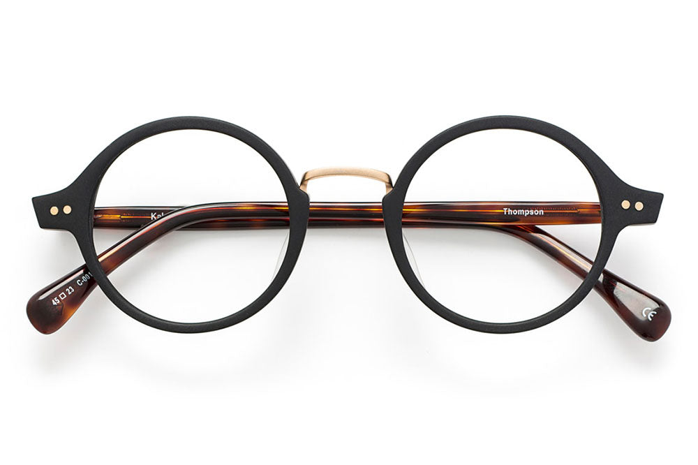 Kaleos Eyehunters - Thompson Eyeglasses Black