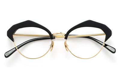 Kaleos Eyehunters - Fairchild Eyeglasses Black