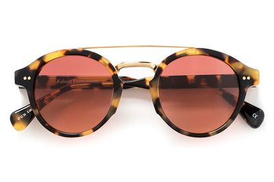 Kaleos Eyehunters - Gage Sunglasses Honey Tortoise