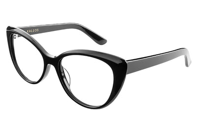 Kaleos Eyehunters - Golightly Eyeglasses Black