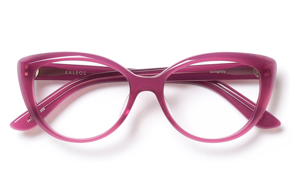 Kaleos Eyehunters - Golightly Eyeglasses Raspberry