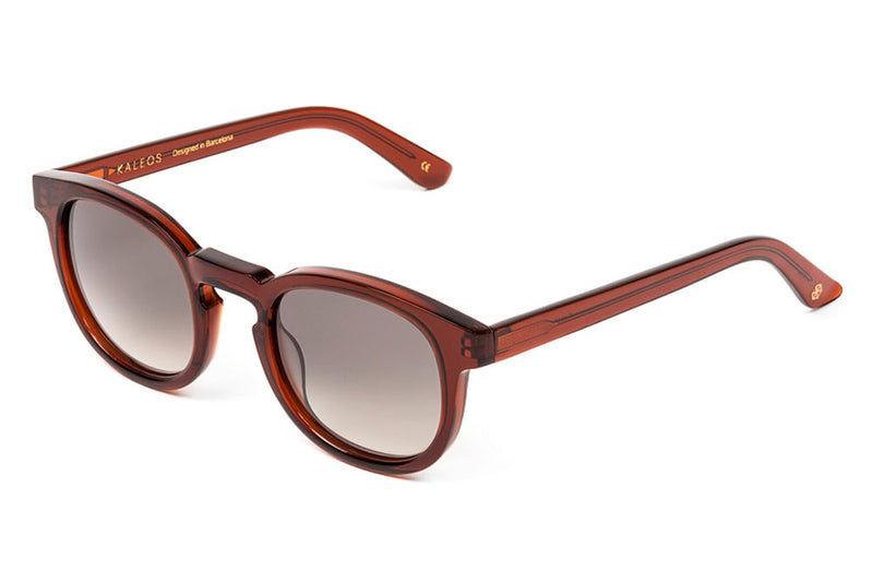 Kaleos Eyehunters - Grant Sunglasses Transparent Light Brown