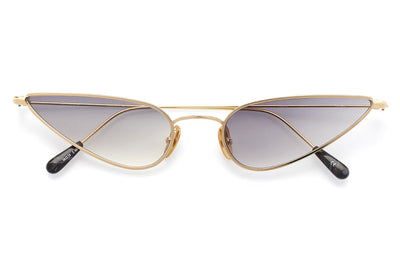 Kaleos Eyehunters - Horowitz Sunglasses Gold with Grey Gradient Lenses