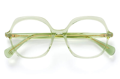 Kaleos Eyehunters - Kingsleigh Eyeglasses Transparent Green