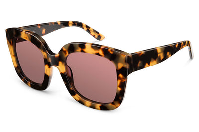 Kaleos Eyehunters - Leeloo Sunglasses Honey Tortoise