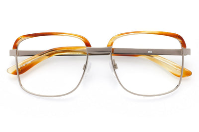 Kaleos Eyehunters - Milk Eyeglasses Honey Tortoise