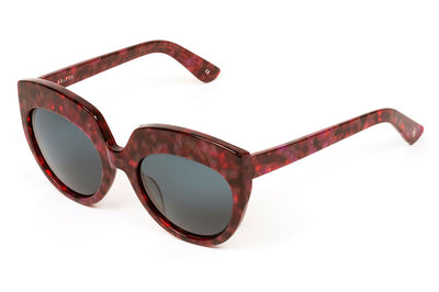 Kaleos Eyehunters - Satine Sunglasses Red Tortoise