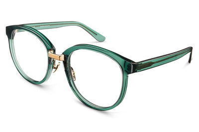 Kaleos Eyehunters - Sultenfuss Eyeglasses Transparent Green