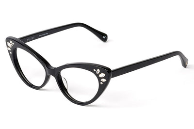 Kaleos Eyehunters - Tramell Eyeglasses Black with Embellishments