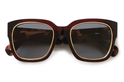 Kaleos Eyehunters - Wilson Sunglasses Tortoise with Grey Lenses