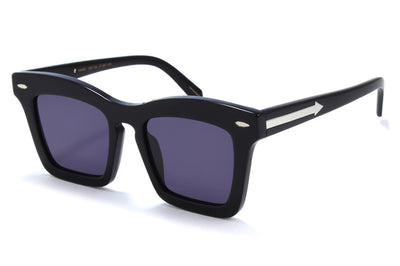Karen Walker - Banks Sunglasses Black
