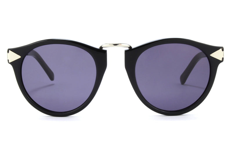Karen Walker - Helter Skelter Sunglasses Black