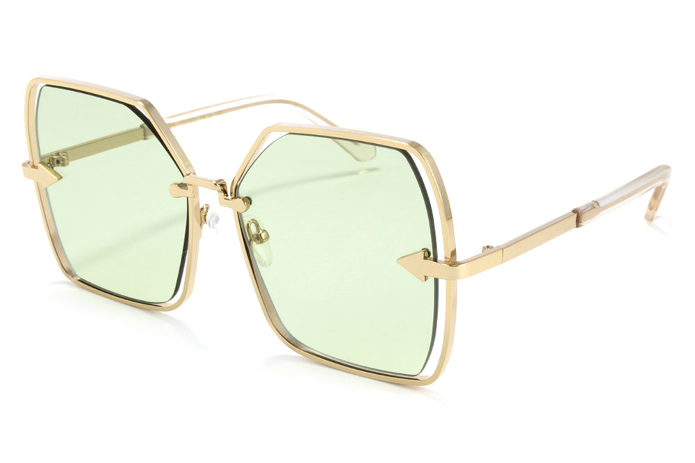 Karen Walker - Nirvana Sunglasses Gold