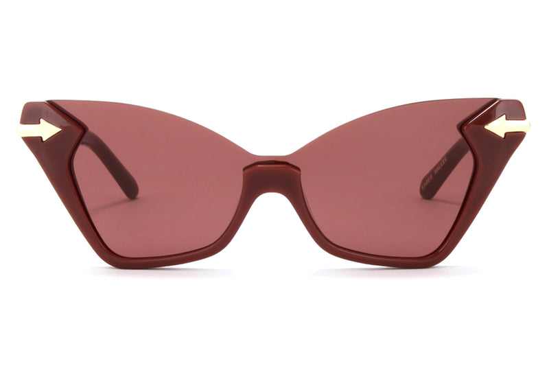 Karen Walker - Sweet Cat Sunglasses Aubergine
