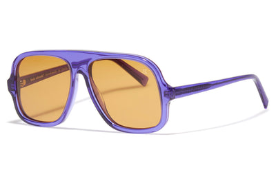 Bob Sdrunk - Lenny Sunglasses Transparent Purple