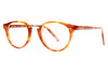 Bob Sdrunk Eyeglasses - Leo Honey Tortoise