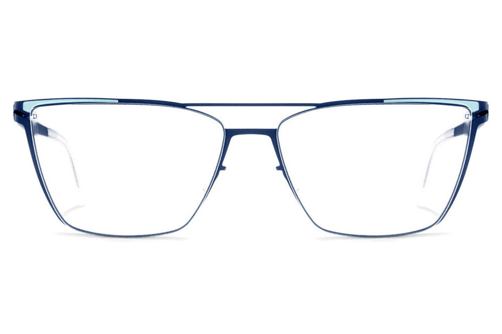 Lool Eyewear - Liv Eyeglasses Royal Blue / Blue Sky