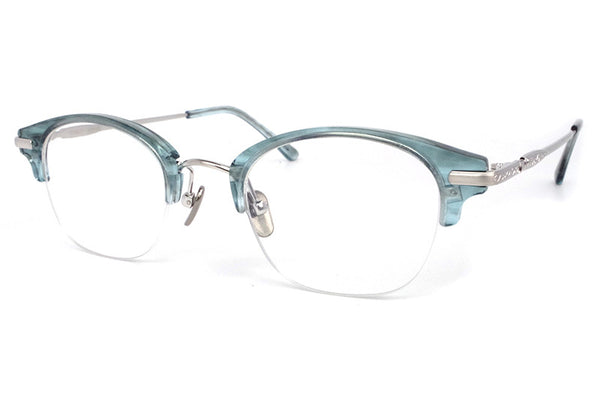 Stancey Ramars - M87 Eyeglasses Light Blue-Silver (C3)