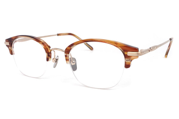 Stancey Ramars - M87 Eyeglasses Light Demi-Gold (C4)