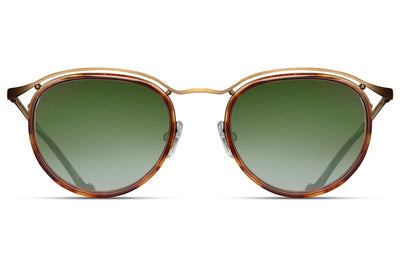 Matsuda - M3093 Sunglasses Antique Gold/Dark Tortoise
