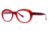 Bob Sdrunk Eyeglasses - Melrose Red