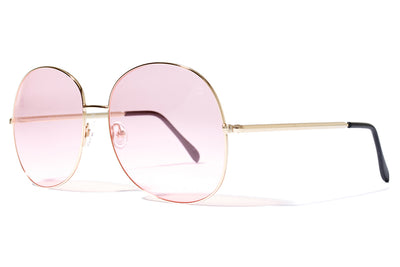 Bob Sdrunk Sunglasses - Milly Gold with Pink Lenses