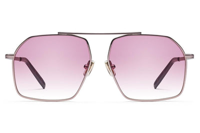 Morgenthal Frederics x Monse - Linda Sunglasses Rose Gold with Rose Wash Lenses