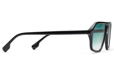 Morgenthal Frederics x Monse - Traci Sunglasses Black with Jade Wash Lenses