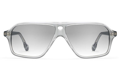 Morgenthal Frederics x Monse - Traci Sunglasses Smoke Crystal with Smoke Wash Lenses
